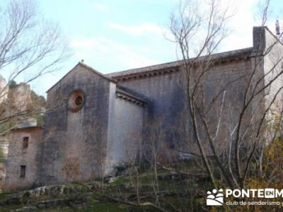 Ermita de San Bartolomé - Senderismo Cañón del Río Lobos - viaje cultural; viajes de semana sant